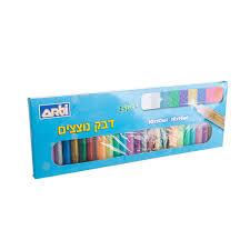 דבק נוצצים 24 צבעים