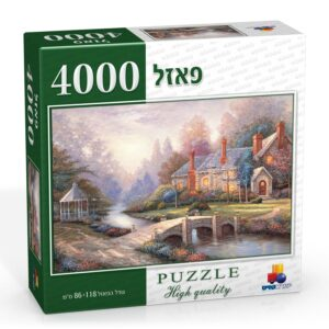 פאזל 4000 חלקים בית בערפל