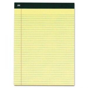בלוק A4 שורה 40 דף   צהוב