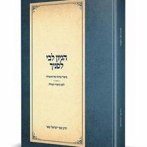 הגיון ליבי לפניך | הרב צבי ישראל טאו