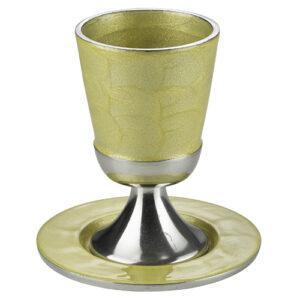 """גביע ציפוי זהב 10 ס""""מ"""
