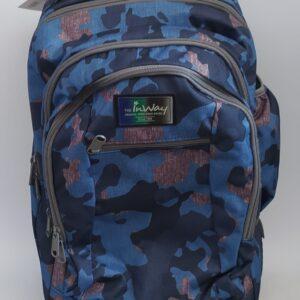 תיק גב עם גלגלים | צבאי כחול